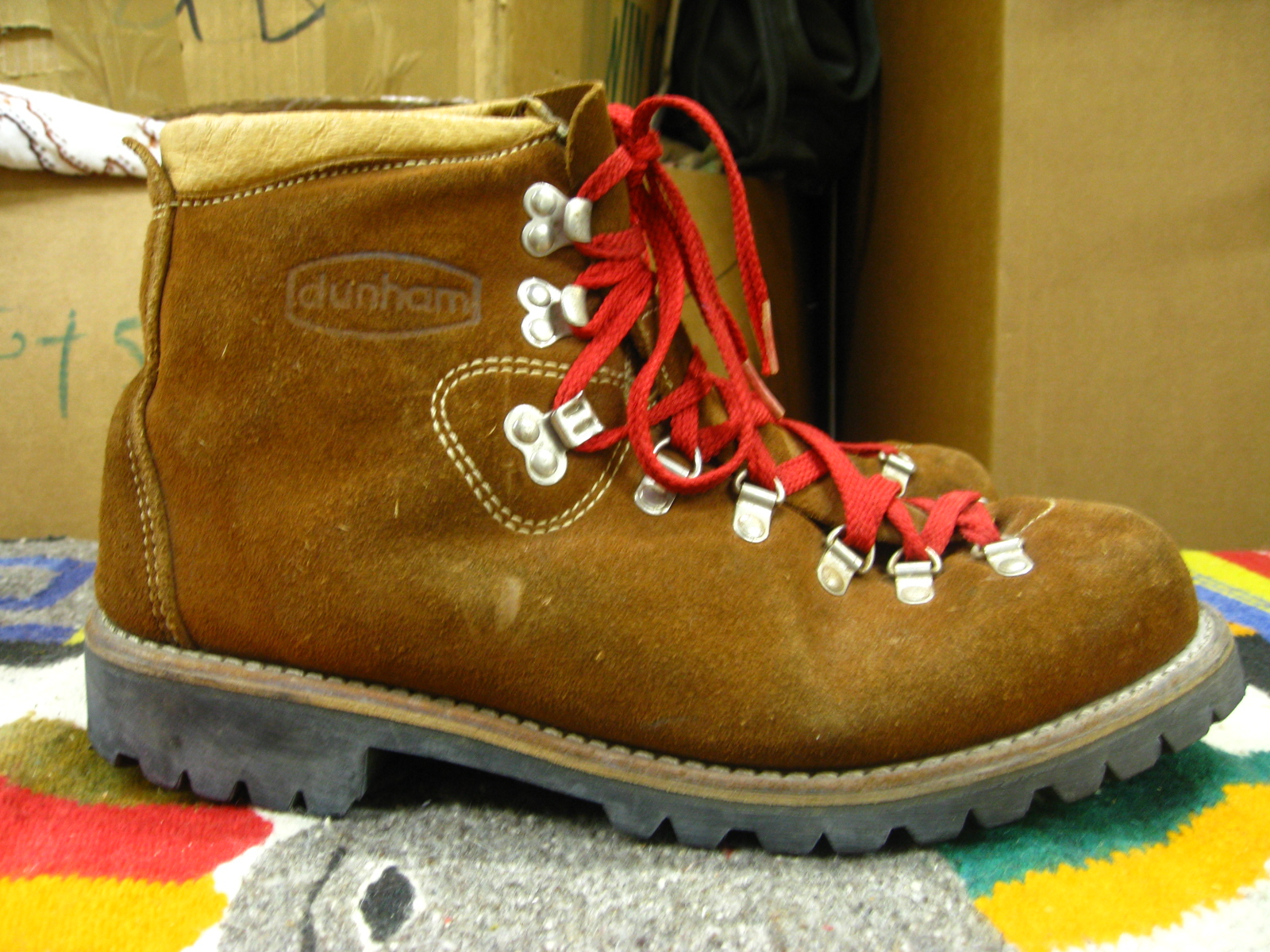 VIntage Dunham Hiking Boots   No